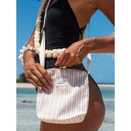 Roxy TURN UP THE STARS Small Handbag- Tapioca