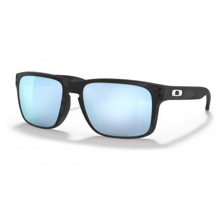 Očala Oakley HOLBROOK - 9102-T955 Matte Black Camo-Prizm Deep Water Polarized