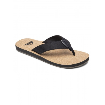 Quiksilver MOLOKAI ABYSS NATURAL Sandals - Black-Brown-Brown