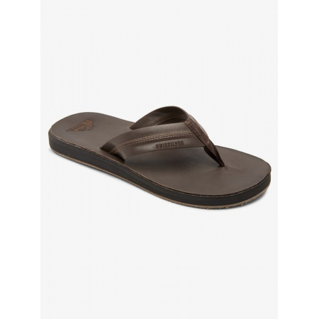 Quiksilver CARVER NATURAL Sandals - Brown-Brown-Brown