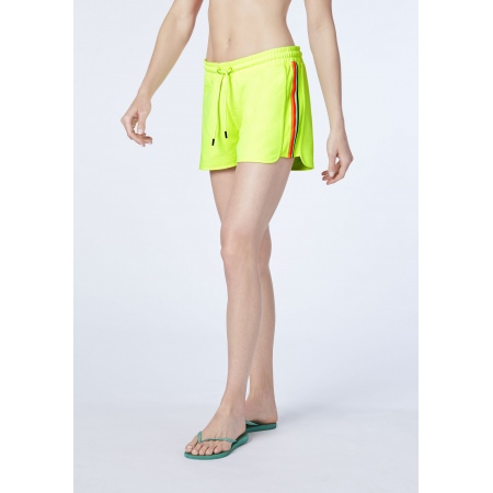 Hlače Chiemsee SIDI kratke - Neon Yellow