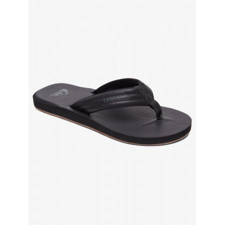 Quiksilver CARVER NUBUCK Sandals - Solid Black