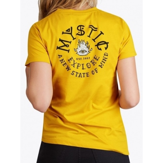 Majica Mystic ONCE UPON AN EYE SS - 775 Mustard