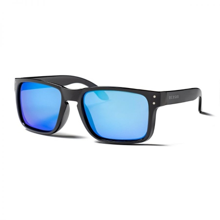 Ocean BLUEMOON - Matte Black-Revo Blue Polarized