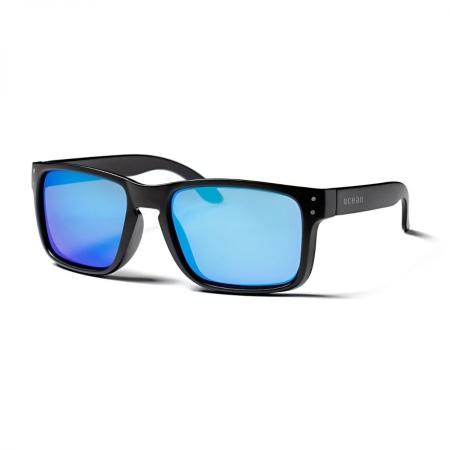 Očala Ocean BLUEMOON - Shiny Black-Revo Blue Polarized