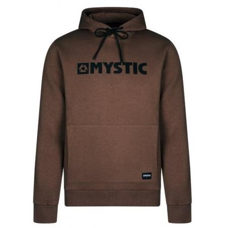 Majica Mystic BRAND HOOD - 736 Dark Brown
