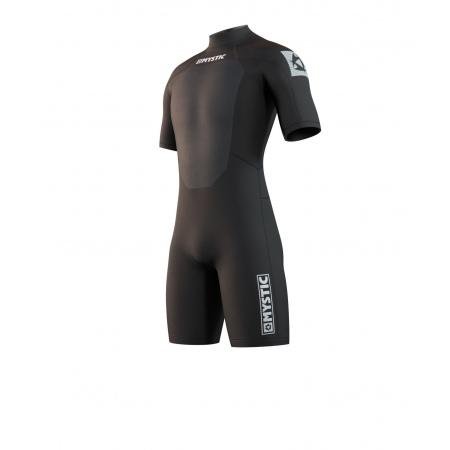 Mystic Obleka BRAND 3-2 Shorty Back-zip - 900 Black