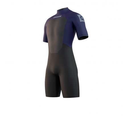 Mystic Obleka BRAND 3-2 Shorty Back-zip - 449 Night Blue