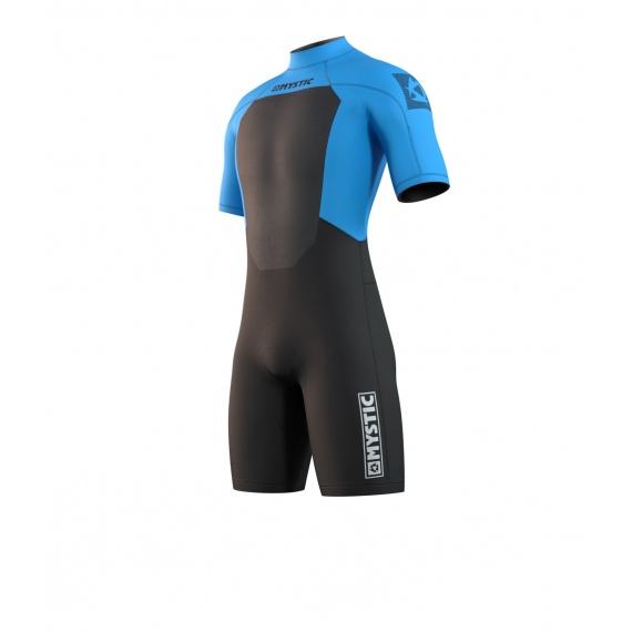 Mystic Obleka BRAND 3-2 Shorty Back-zip - 417 Global Blue