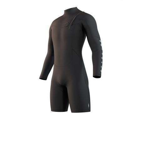 Mystic Obleka THE ONE 3-2 Longarm Shorty Zipfree - 900 Black