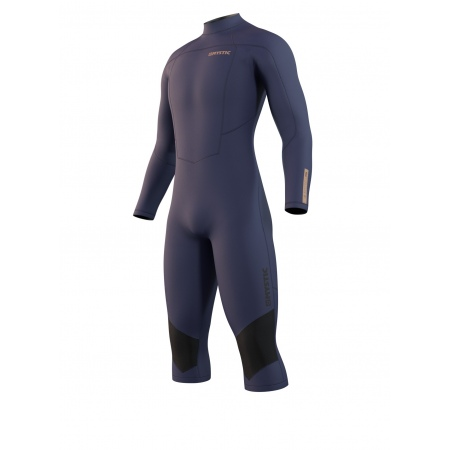 Mystic Obleka MARSHALL 4-3 Longarm Shortleg Backzip - 449 Night Blue
