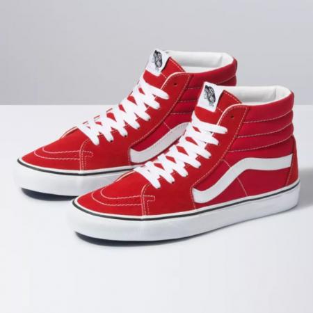 Čevlji Vans SK8-Hi Tapered - Racing Red-True White
