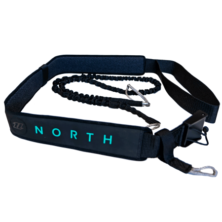 North Waist Leash - 900 Black