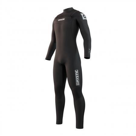 Mystic STAR 5-3 Double Frontzip Wetsuit - 900 Black