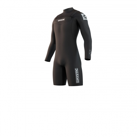 Mystic Obleka STAR 3-2 Longarm Shorty Double Frontzip - 900 Black