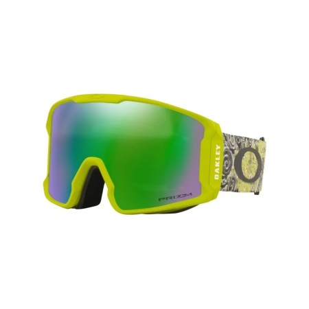 Očala Oakley LINE MINER XL KAZU - 7070-A7 Green Floral-Prizm Snow Jade