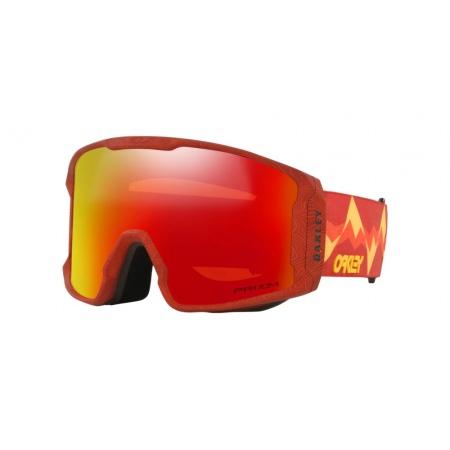 Očala Oakley LINE MINER XL - 7070-A9 Red Mountains-Prizm Snow Torch