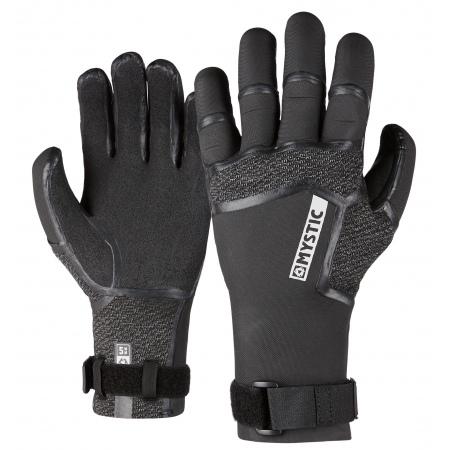 Mystic Rokavice SUPREME Glove 5mm 5Finger Precurved - 900 Black