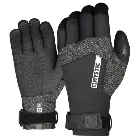 Mystic Rokavice MARSHALL Glove 3mm 5Finger Precurved - 900 Black