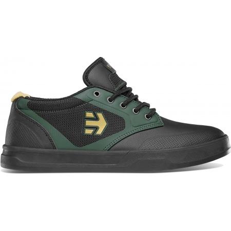 Etnies SEMENUK PRO Bike Shoes- 539 Black-Green-Gold