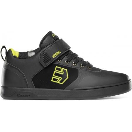 Etnies CULVERT MID Bike Shoes - Black-Lime