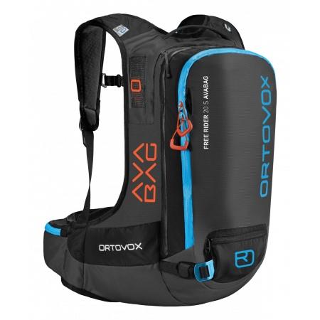 Nahrbtnik Ortovox FREE RIDER 20 S Avabag - Black Anthracite