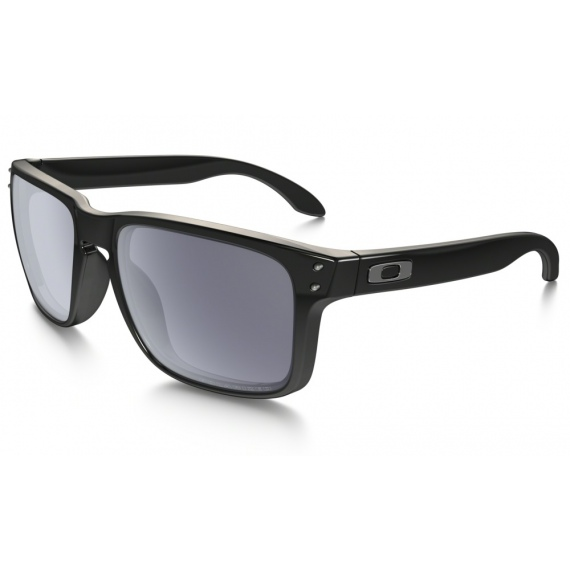 Očala Oakley HOLBROOK - 9102-02 Polished Black-Grey Polarized