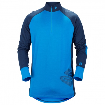 Majica Sweet Protection ALPINE Halfzip 17,5 - Blue Blue