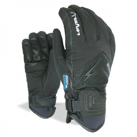 Rokavice Level I-THUNDER Gore Tex - Blk Black