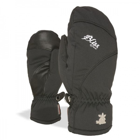 Rokavice Level BLISS MITT W - Blk Black