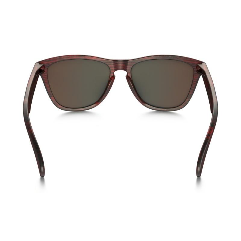 2eea5496fd ... Očala Oakley FROGSKINS - 9013-B755 Matte Red Woodgrain-Saphire Iridium  ...