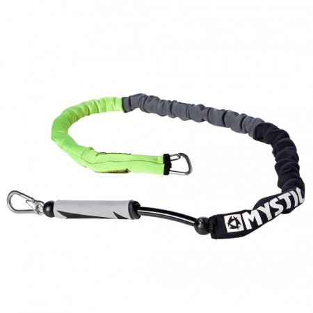 Mystic Handlepass Leash Neo - Black/yellow