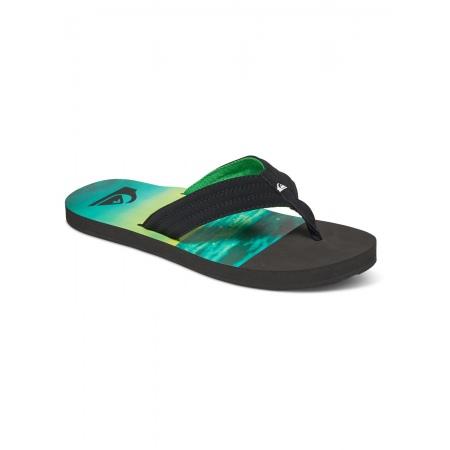 Japonke Quiksilver BASIS - Xkgg Black-Green-Green
