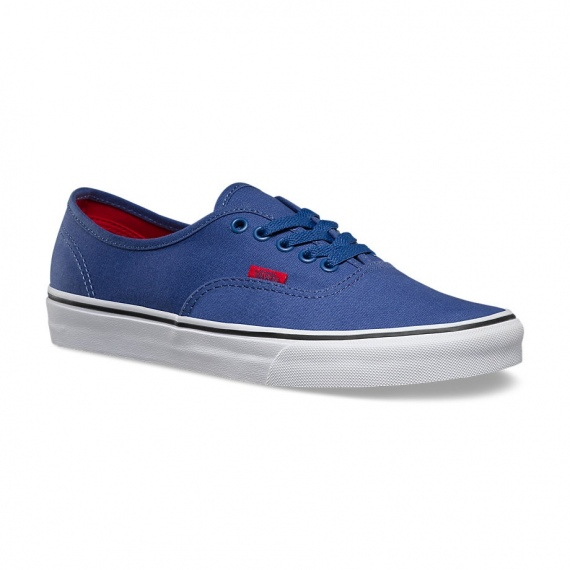 5ac23b54117360 Vans AUTHENTIC Shoes - Bbrr Bijou Blue-Racing Red - Infinity Sport ...