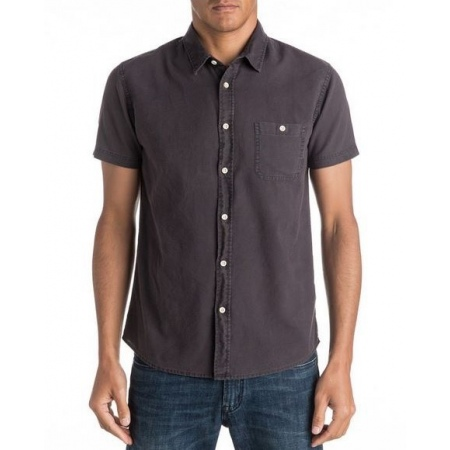 Quiksilver TIME BOX SS Shirt - Kta0 Tarmac