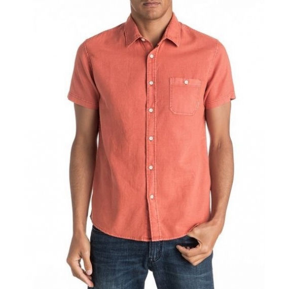 Srajca Quiksilver TIME BOX SS - Nmh0 Burnt Sienna