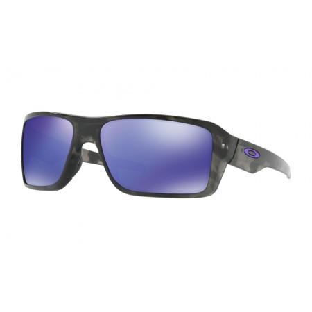 Očala Oakley DOUBLE EDGE - 9380-0466 Black Tortoise-Violet Iridium