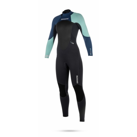 Mystic Obleka STAR 5-4 Fullsuit Women Back-zip - 410 Navy