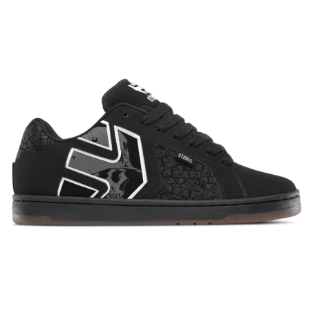 Čevlji Etnies FADER 2 Metal Mulisha - 581 Black-Grey-White