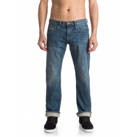 Hlače Quiksilver SEQUEL 34 - Bygw Medium Blue