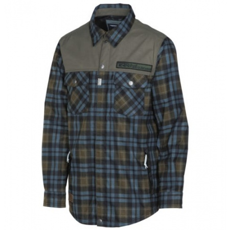 Jakna Rehall SHIRT Snowshirt - 88046 Checks Bluestone