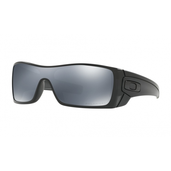 79a6839fb6 Oakley BATWOLF - 9101-35 Matte Black Ink-Black Iridium Polarized ...