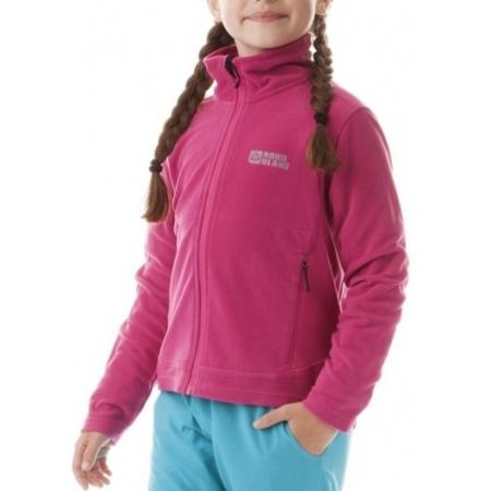 Majica Nord Blanc MOSAICS Junior - Tar Weary Pink