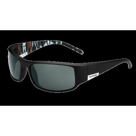 Očala Bolle KING - 0 Matte Black Orange Zebra-Polarized Tns Oleo Af
