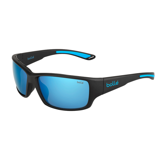 Očala Bolle KAYMAN - 0 Matte Black Blue-Polarized Offshore Blue Oleo Ar