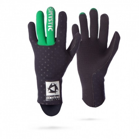 Mystic Rokavice MERINO WOOL Glove 1,5mm - 900 Black
