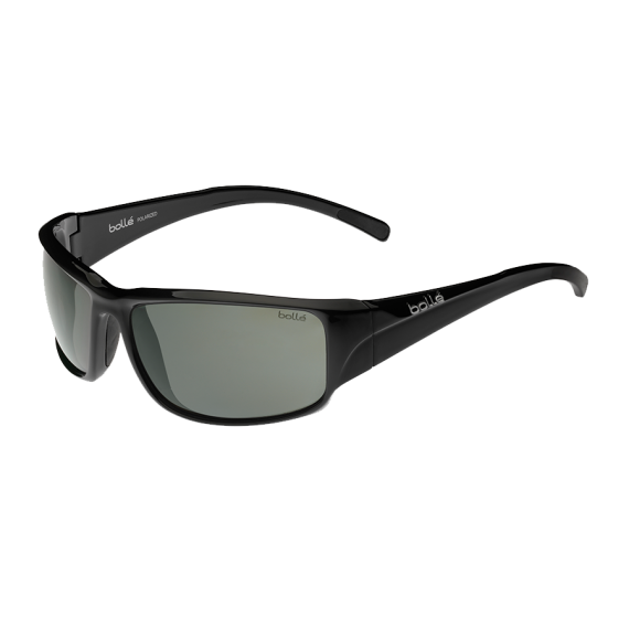 Očala Bolle KEELBACK - 0 Shiny Black-Polarized Tns Oleo Af 8 Base