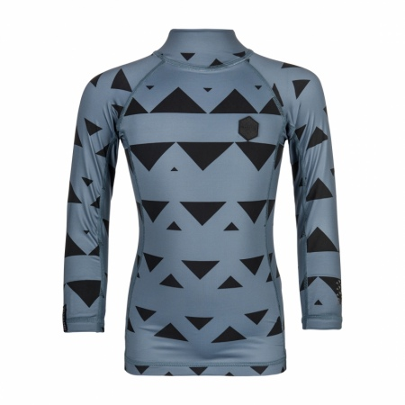Lycra Mystic STAR LS Kids - 425 Pewter