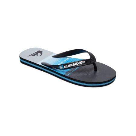 Japonke Quiksilver MOLOKAI HIGHLINE SLAB - Xkbs Black-Blue-Grey
