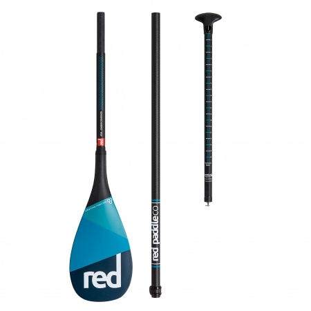 SUP Veslo Red Paddle CARBON-CARBON Travel 3pcs (Lever Lock)